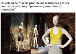 Enlace a Nigeria contra los maniquíes
