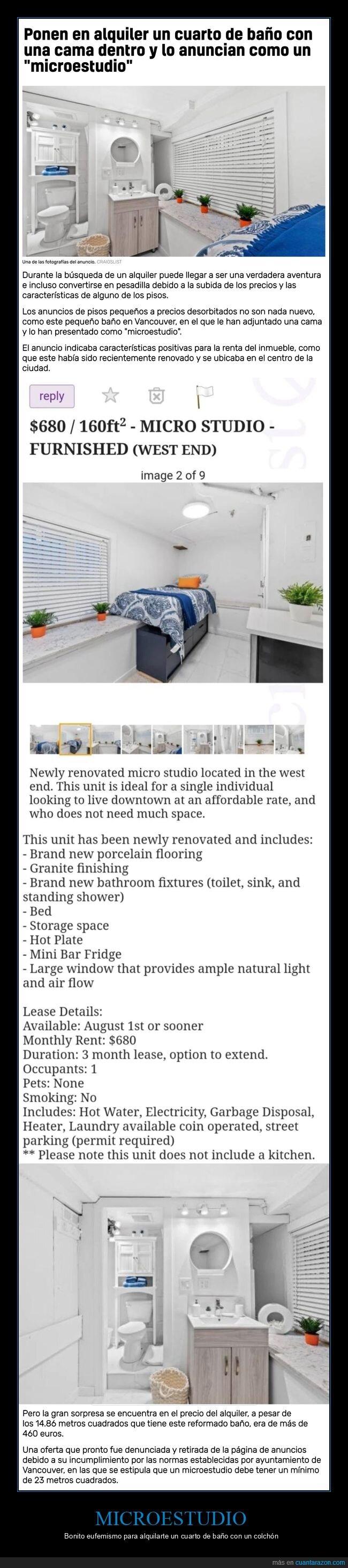 alquiler,cuarto de baño,microestudio