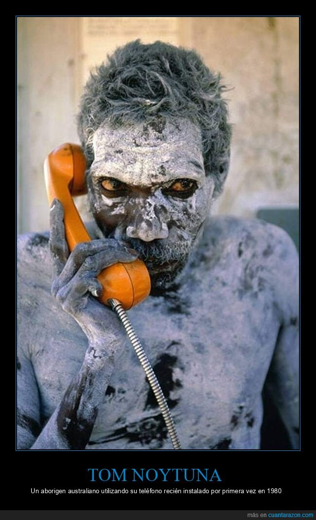 aborigen australiano,teléfono