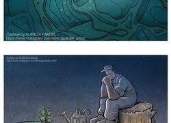 Enlace a Ilustraciones que lanzan una mirada crítica a la sociedad moderna