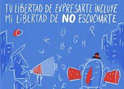 Enlace a Libertad de expresión y libertad de ignorar
