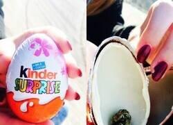 Enlace a Vaya con los regalos de los Huevos Kinder...