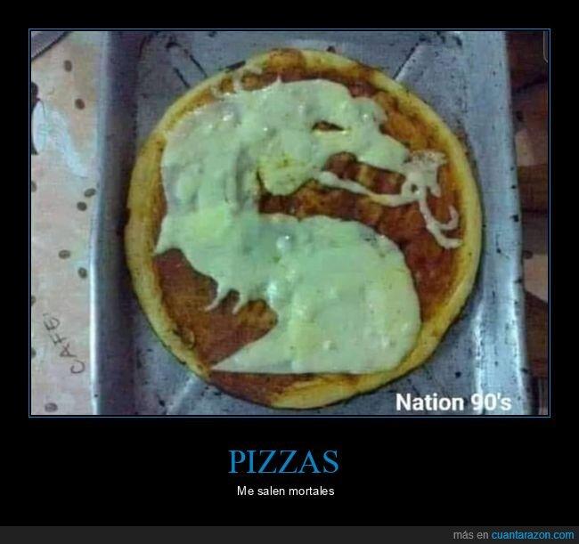 mortal kombat,pizza