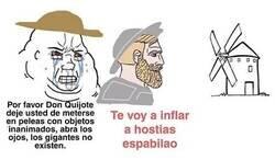 Enlace a Meme quijotesco