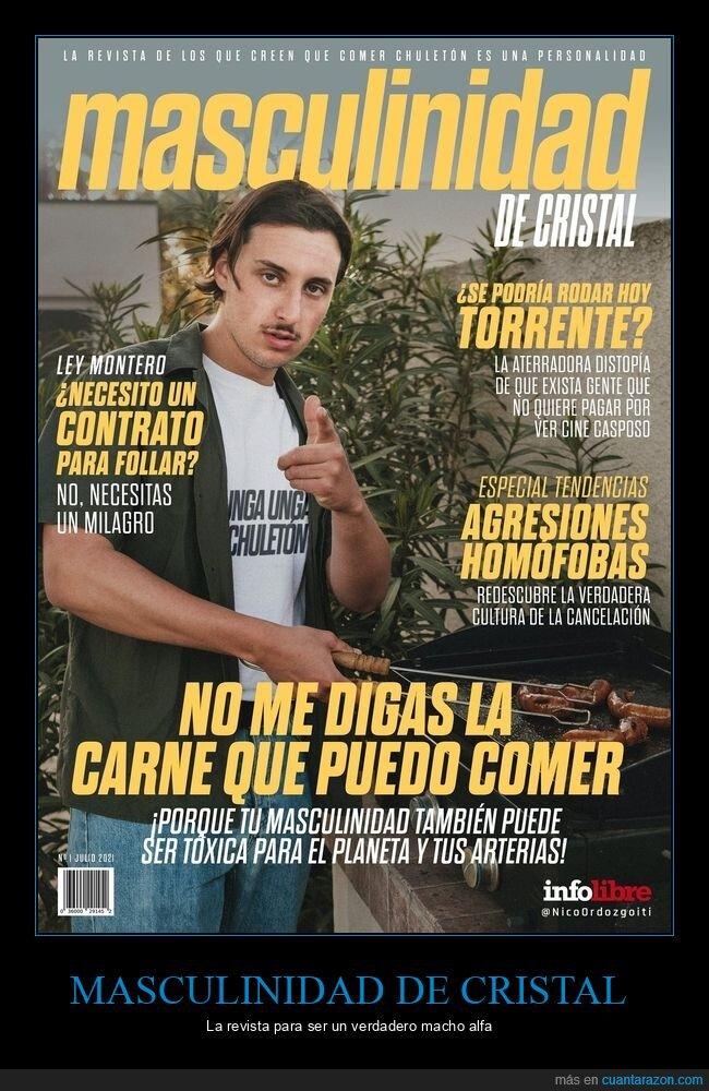 masculinidad de cristal,revista