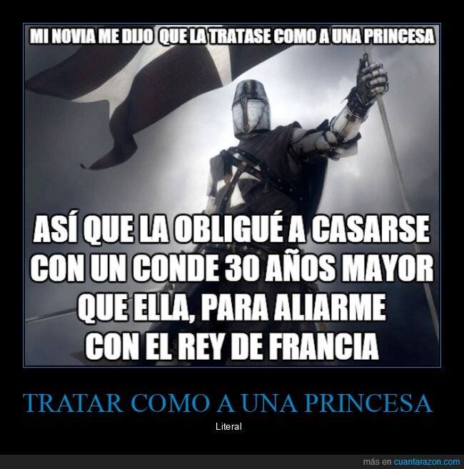 princesa,tratar