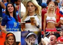 Enlace a Los fans de distintos países