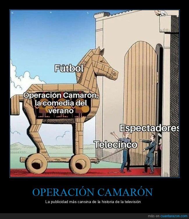 camarón,operación,publicidad,telecinco