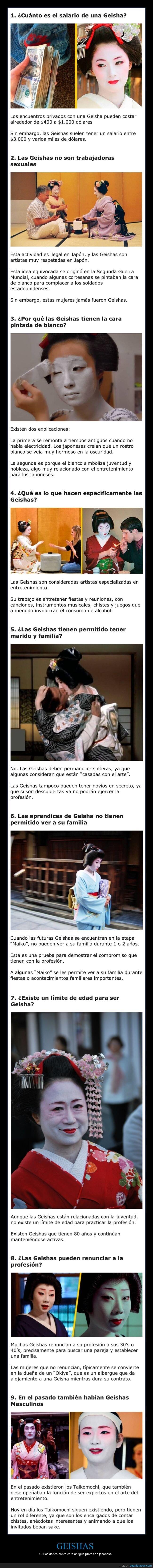 curiosidades,geishas