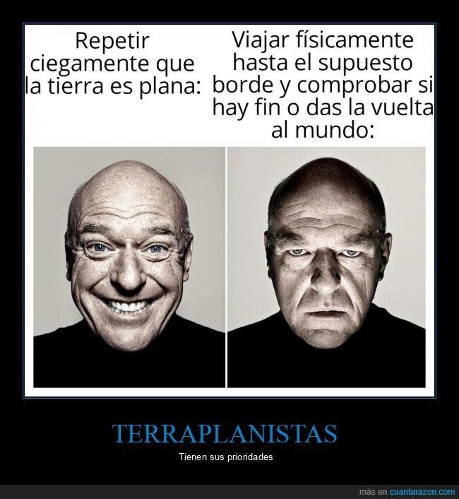 breaking bad,terraplanismo,terraplanistas