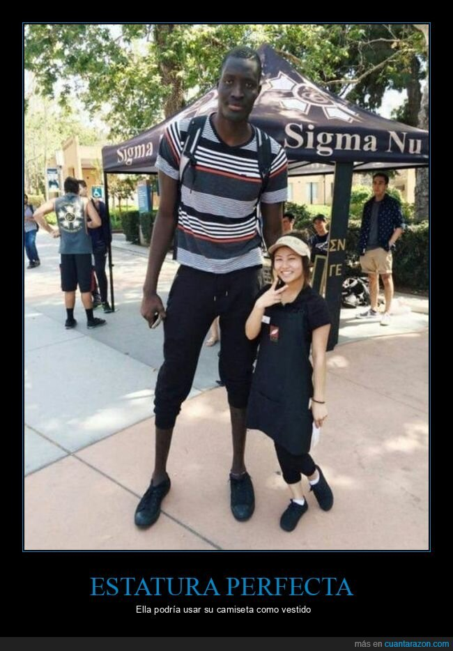 alto,diferencia,estatura