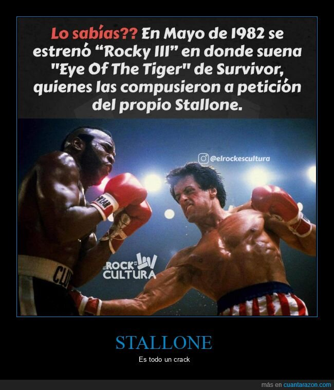 eye of the tiger,rocky iii,stallone