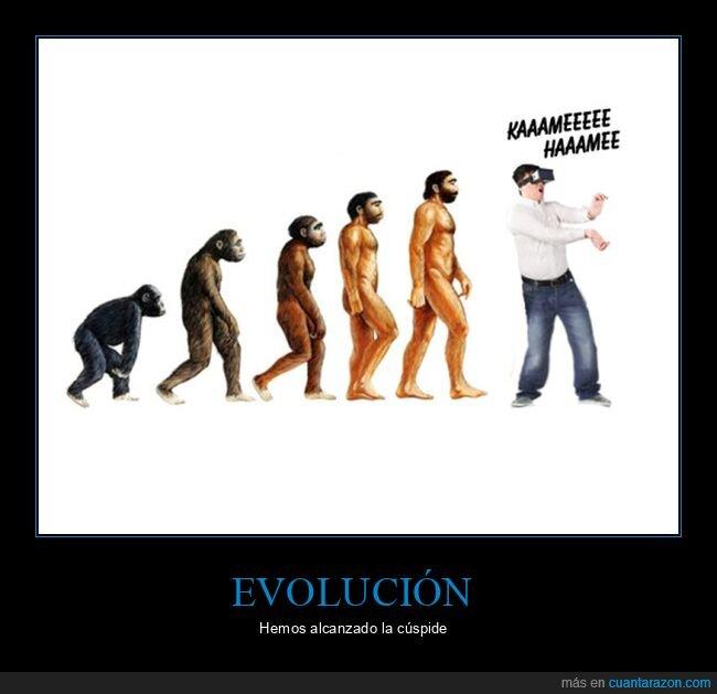 evolución,kame hame ha,realidad virtual
