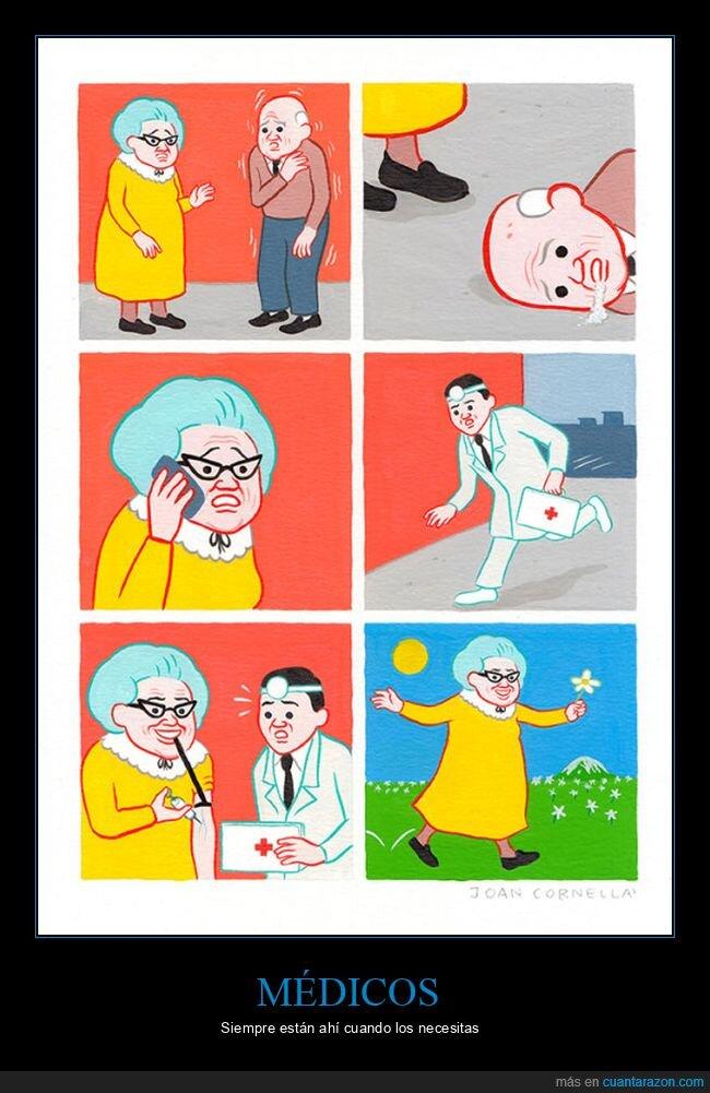 abuelos,drogas,médico