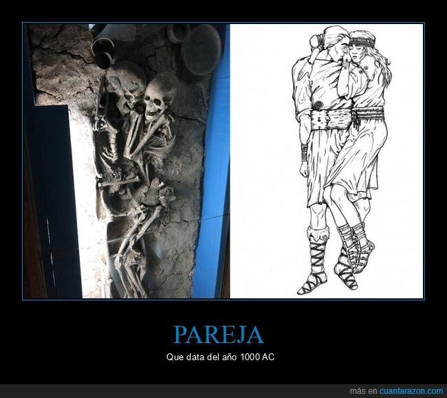 esqueletos,pareja
