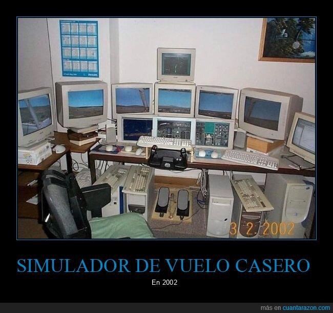 2002,simulador de vuelo