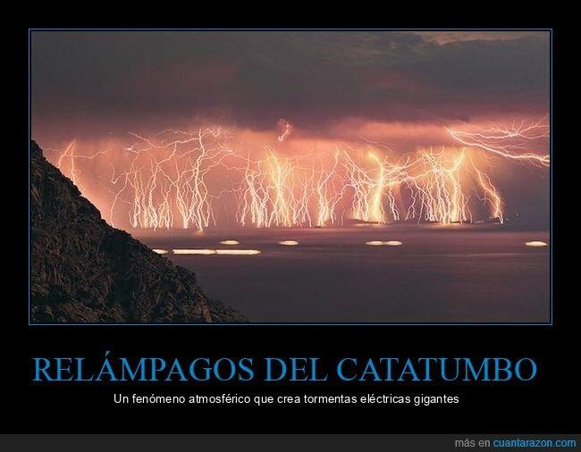 curiosidades,relámpagos del catatumbo,tormentas eléctricas
