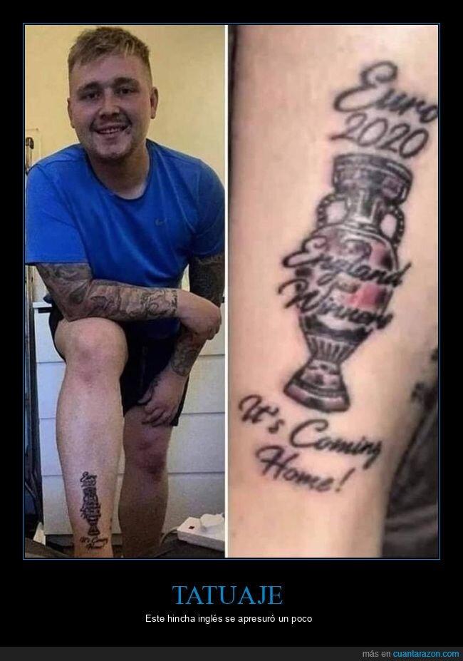 eurocopa,fails,inglaterra,tatuaje