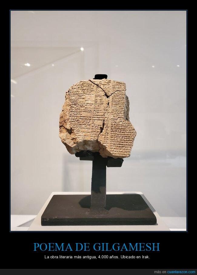 antigua,gilgamesh,obra literaria