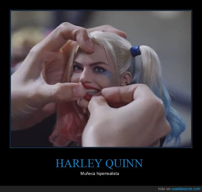 harley quinn,hiperrealista,muñeca