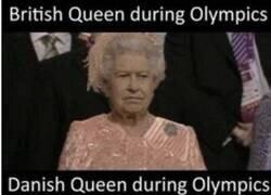 Enlace a Reina de Inglaterra VS Reina de Dinamarca