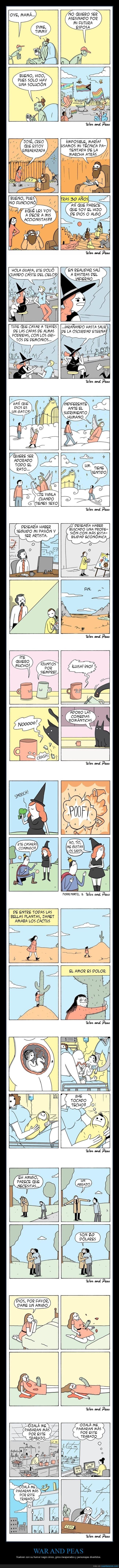 cómics,war and peas