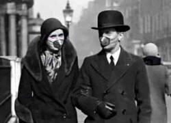 Enlace a Así era una pandemia hace 100 años
