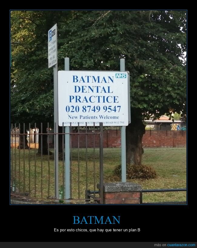 batman,cartel,dentista