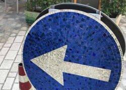 Enlace a Hasta el cono es un mosaico