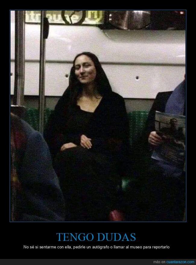 clavada,louvre,metro,monnalisa