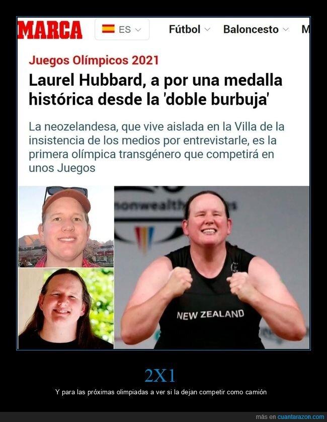 juegos olímpicos,laurel hubbard,trans