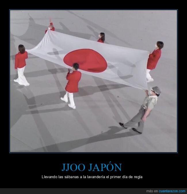 bandera,japón,jjoo,mancha