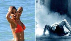 Enlace a Algunas mujeres saliendo del agua // Yo saliendo del agua
