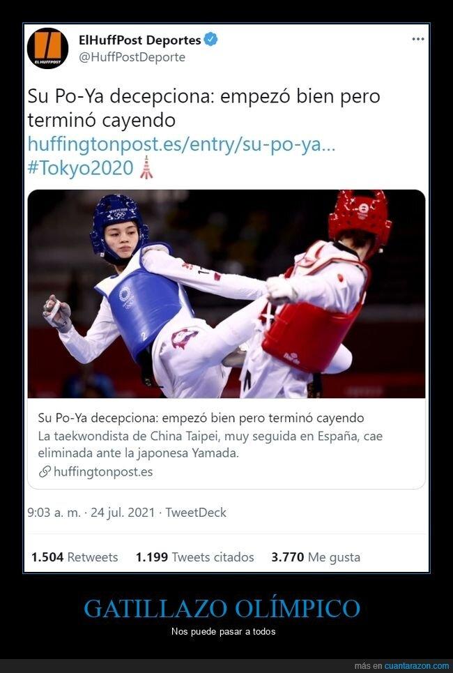 gatillazo,jjoo,su po-ya,taekwondo