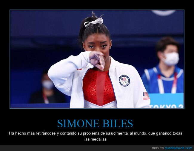 gimnasia rítmica,jjoo,medallas,salud mental,simone biles