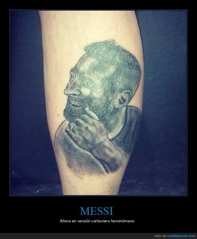 messi,tatuaje