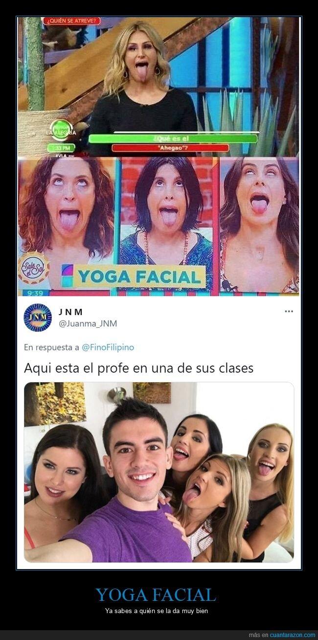 facial,jordi enp,yoga