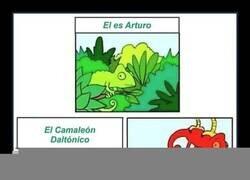 Enlace a El camaleón daltónico