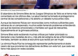 Enlace a La salud mental ha tomado el protagonismo en los Juegos Olímpicos y ha abierto un debate nunca antes visto