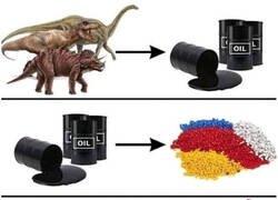 Enlace a Los dinosaurios de juguete están hechos con dinosaurios de verdad
