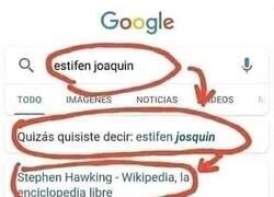 Enlace a Gracias por tanto, Google