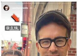 Enlace a Ryan Reynolds sabe rectificar