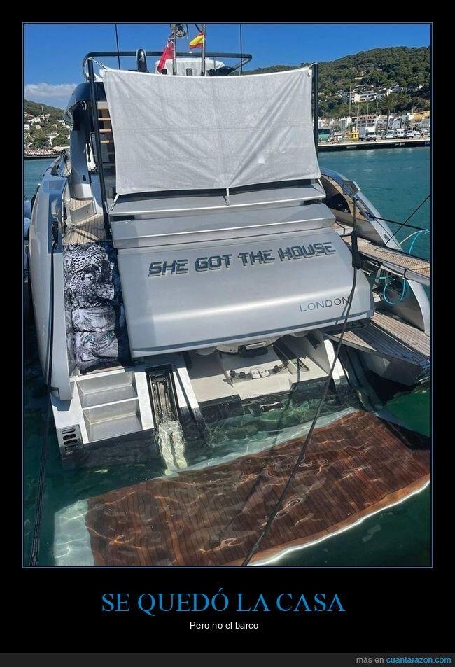 barco,casa,quedarse