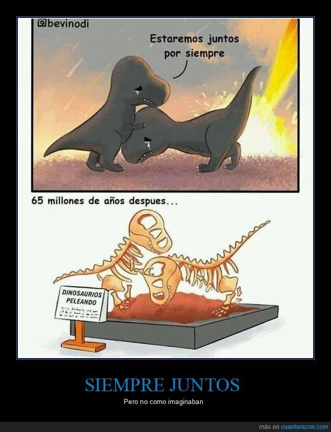 dinosaurios,juntos,siempre