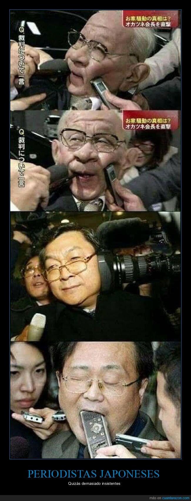 japoneses,periodistas