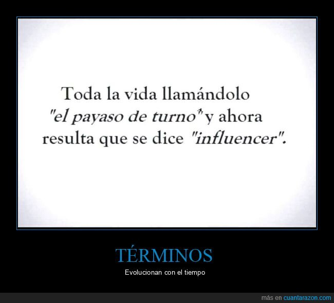 influencer,payaso