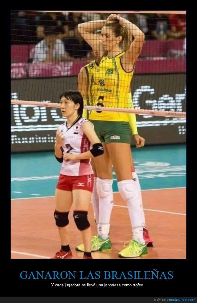 alta,estatura,juegos olímpicos,voleibol