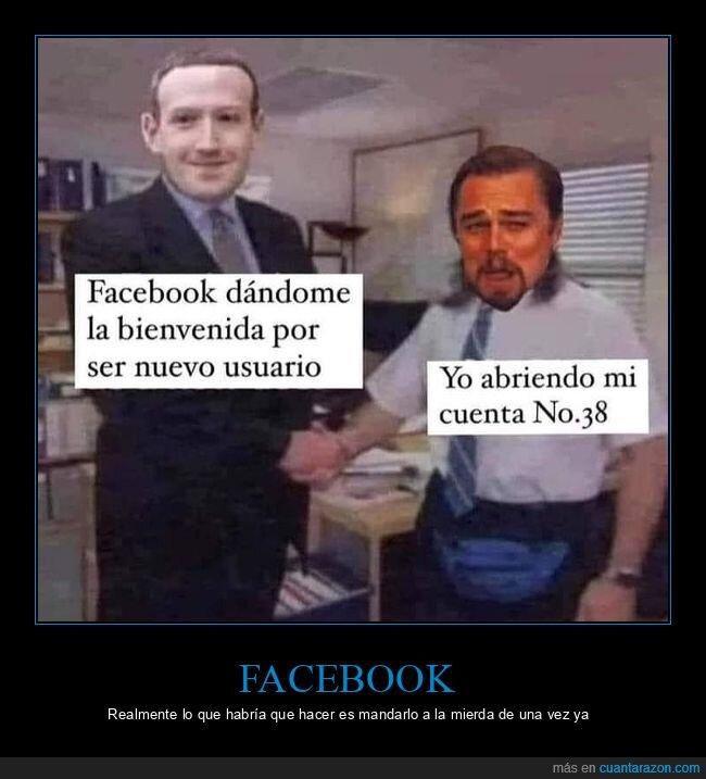 bienvenida,facebook,leonardo dicaprio,mark zuckerberg,the office,usuario