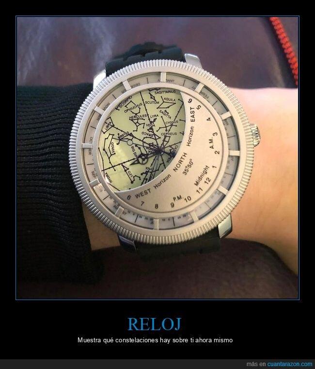 constelaciones,reloj
