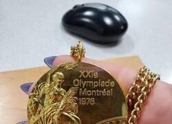 Enlace a Medalla olímpica